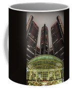 Renaissance Center Detroit Michigan Coffee Mug by Nicholas  Grunas