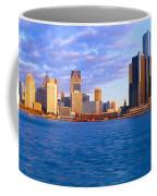 Renaissance Center, Detroit, Sunrise Coffee Mug