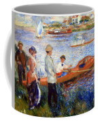 Renoir's Oarsmen At Chatou Coffee Mug