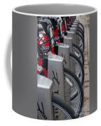 Rental Bikes Coffee Mug