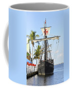 Replica Of The Christopher Columbus Ship Pinta Coffee Mug
