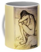 Replica Of Vincent's Drawing - Sorrow Coffee Mug