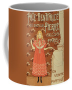 Reproduction Of A Poster Advertising Doctor Peters Toothpaste Coffee Mug