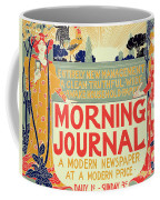 Reproduction Of A Poster Advertising The Morning Journal Coffee Mug