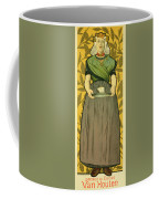 Reproduction Of A Poster Advertising Van Houten Cocoa Coffee Mug
