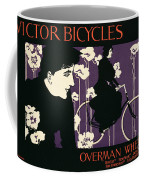 Reproduction Of A Poster Advertising Victor Bicycles Coffee Mug