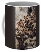 Repulsing A Frontal Attack With Rifle Coffee Mug