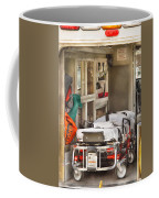Rescue - Inside The Ambulance Coffee Mug by Mike Savad