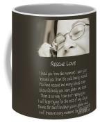 Rescue Love Adoption Coffee Mug
