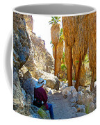 Rest Stop In Andreas Canyon Trail In Indian Canyons-ca Coffee Mug