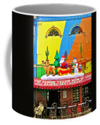 Restaurant In Gateway To The Amazon River In Iquitos-peru Coffee Mug