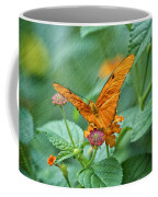 Resting Orange Butterfly Coffee Mug