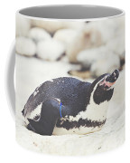 Resting Penguin Coffee Mug