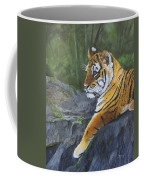 Resting Place - Tiger Cub Coffee Mug