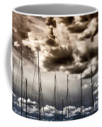 Resting Sailboats Coffee Mug by Stelios Kleanthous