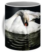 Resting Swan Coffee Mug