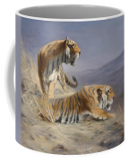 Resting Tigers Coffee Mug