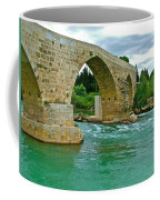 Restored Roman Bridge Over Eurynedan River-turkey Coffee Mug