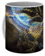 Reticulated Python With Rainbow Scales 2 Coffee Mug