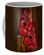 Retired Boxing Gloves Coffee Mug by Paul Ward