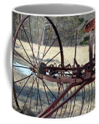 Retired Hay Rake Coffee Mug