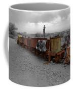 Retired Mining Ore Cars Coffee Mug