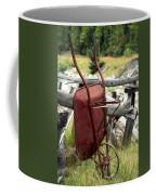 Retired Wheelbarrow Coffee Mug