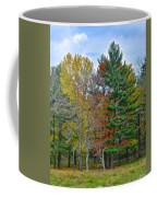 Retreating Pines Coffee Mug