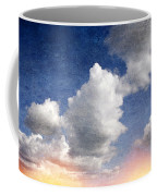 Retro Clouds 2 Coffee Mug