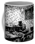 Retro Diner Bw Coffee Mug