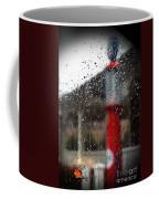 Retro Gas Pump On A Rainy Day Coffee Mug