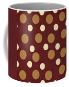 Retro Polka Dot Coffee Mug