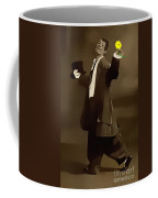 Retro Reproduction The Courtship Yellow Coffee Mug