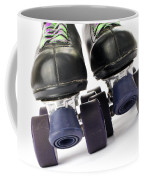Retro Roller Skates Coffee Mug by Jose Elias - Sofia Pereira