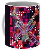 Retro Trumpets Coffee Mug