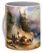 Return From The Mountain Pasture Coffee Mug