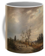 Returning Home Before An Approaching Storm Coffee Mug