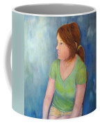 Reverie Of A Young Woman Coffee Mug