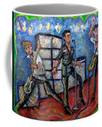 Revolution Rock The Clash Coffee Mug by Jason Gluskin