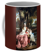 Reynolds' Lady Elizabeth Delme And Her Children Coffee Mug
