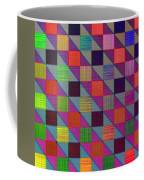 Rgby Squares II Coffee Mug