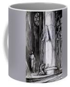 Rheims Cathedral, Scene From St Joan Coffee Mug