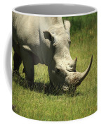 Rhino Covered In Flies Coffee Mug
