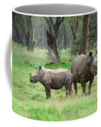 Rhino Family Coffee Mug