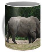 Rhino In The Wild Coffee Mug