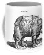 Rhinoceros No 76 From Historia Animalium By Conrad Gesner  Coffee Mug