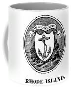 Rhode Island State Seal Coffee Mug