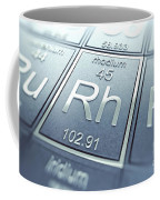 Rhodium Chemical Element Coffee Mug