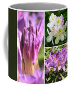 Rhododendron Collage Coffee Mug