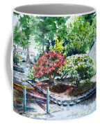 Rhododendrons In The Yard Coffee Mug